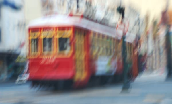 Painted Trolley Photography Art | Carol's Little World