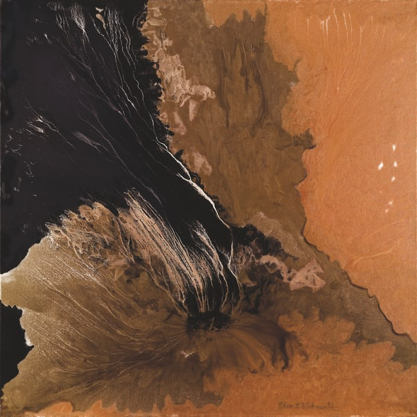 Gold Canyon 2 Art | Rhona LK Schonwald