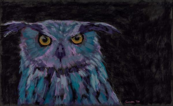 Night Stalker Art   capeanngiclee