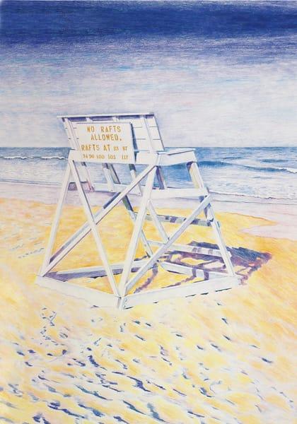 Lifeguard Chair Art | capeanngiclee