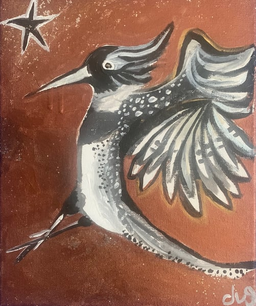 Kingfisher Ballet Art | DuggArt