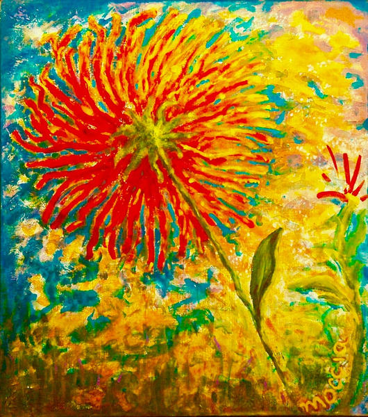Zinnia Sky, Private Collection Art | Wild Ponies creations