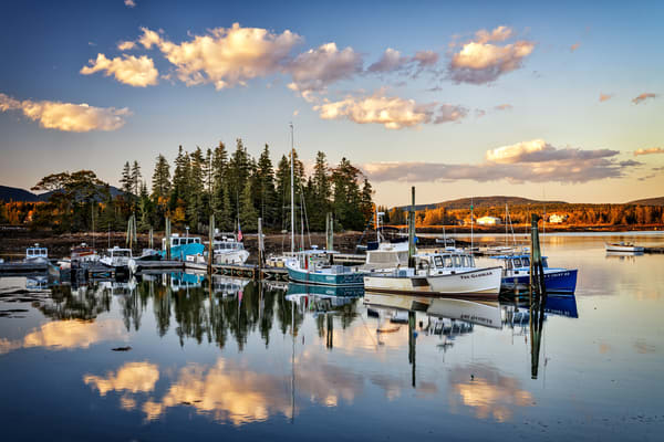 Day's End in Bernard Harbor | Shop Photography by Rick Berk