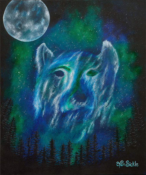 """Bear Galaxy"" fine art print by Christine VanSickle."