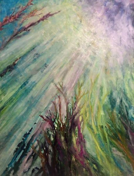 """Under It All"" Original  Art | vibrant art studio, Art by Annette Dion McGowan"