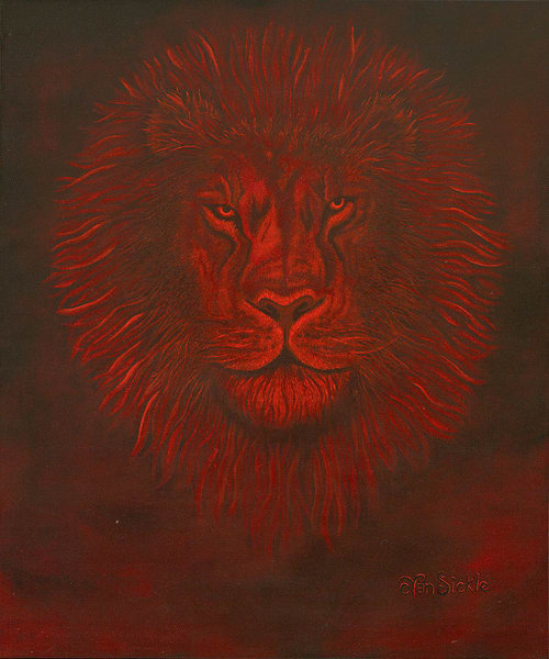 """Red Lion"" fine art print by Christine VanSickle."
