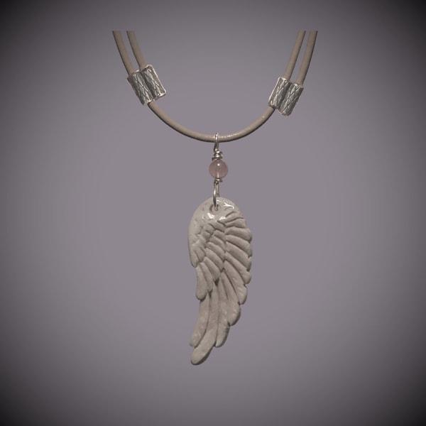 Angel Wing Pendant   Angel Wing Jewelry   Angel Wing Symbolism