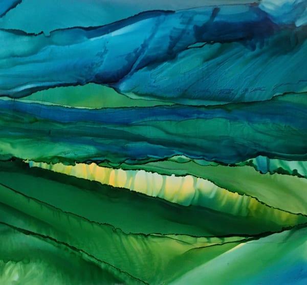 Split By Light, Original Art | Sandy Smith Gerding Artwork