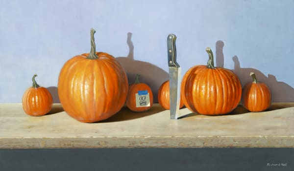 Pumpkin Predicament Art | Richard Hall Fine Art