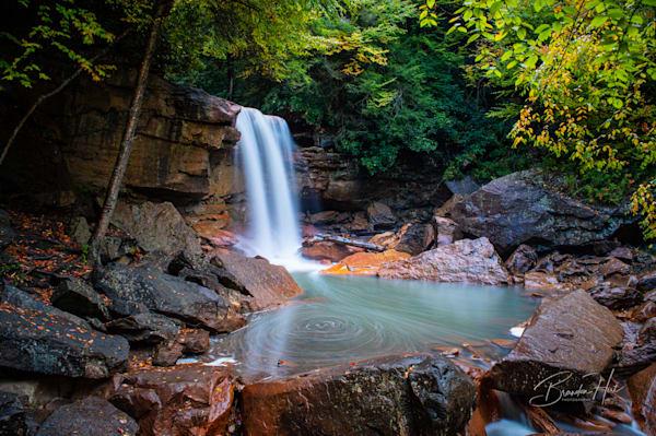 Douglas Falls in West Virginia
