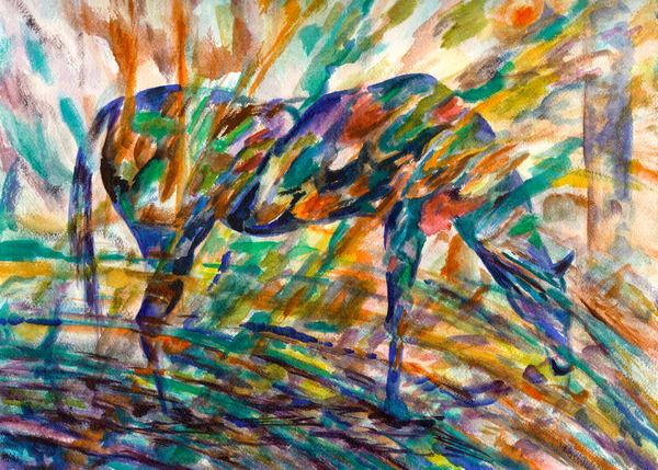 Horse Spirit Art   Marisela Bracho