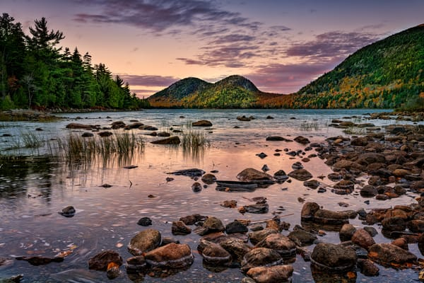 Autumn Dusk at Jordan Pond | Shop Photography by Rick Berk