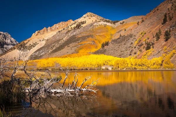 """Mountain Lake in the Fall"" print | Jim Parkin Fine Art Photography"
