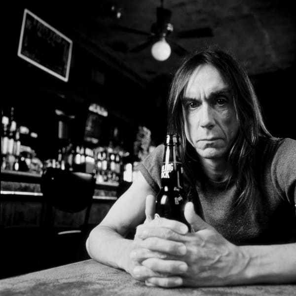 Iggy Pop at the Horseshoe Bar in NYC