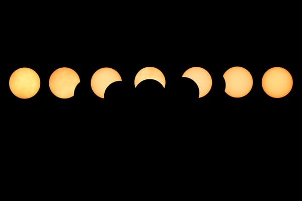Maine Solar Eclipse