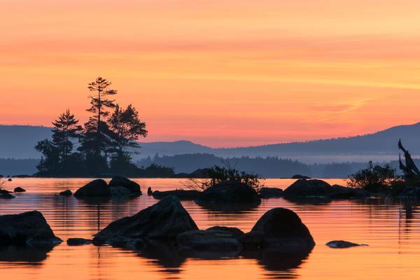 Millinocket Lake Sunrise