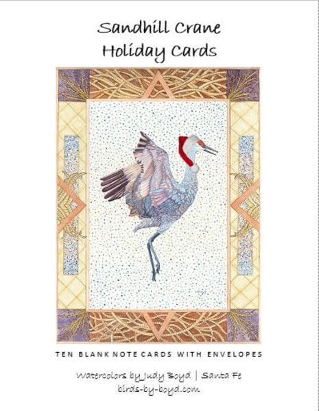 Sandhill Crane Holiday Cards Set | Birds by Boyd