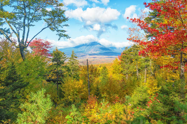 Mt Katahdin from KWWNM in Fall