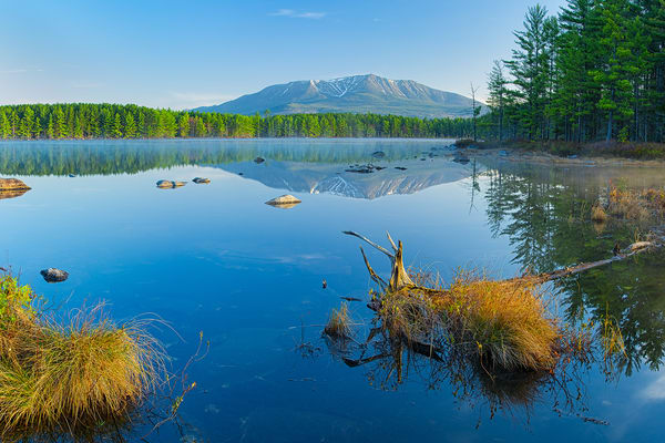 Mt Katahdin Pockwockamus Pond