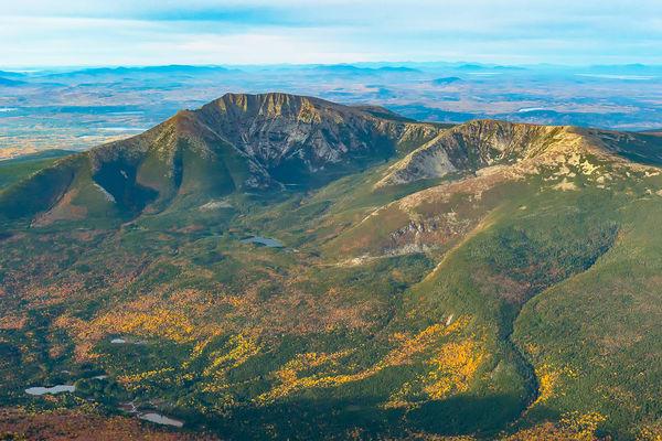 Mt Katahdin Range Looking South