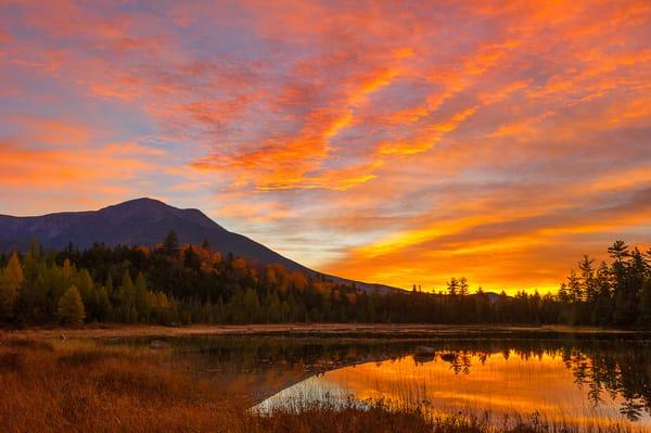 Mt Katahdin Sunrise Tracy Pond