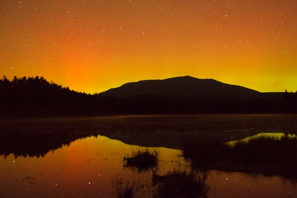 Northern Lights, Big Dipper, Mt. K