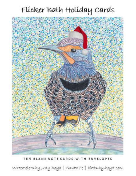 Flicker Bath Holiday Cards Set | Birds by Boyd