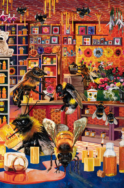 Bee Commerce  Art | Julie Pace Hoff Gallery