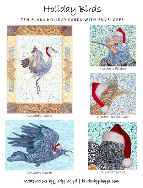 Holiday Bird Cards   Mixed Set #2 | Birds by Boyd