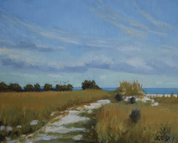 Along The Path Art | Sharon Guy