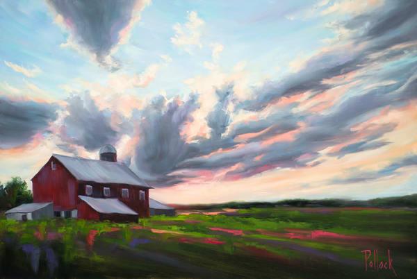Collide original oil painting | Sarah Pollock Studio