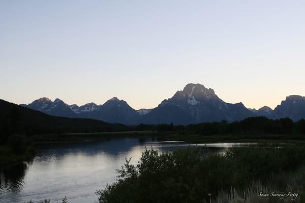 Grand Tetons National Park 1 Art | Susan Searway Art & Design