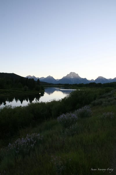 Grand Tetons National Park 4 Art | Susan Searway Art & Design