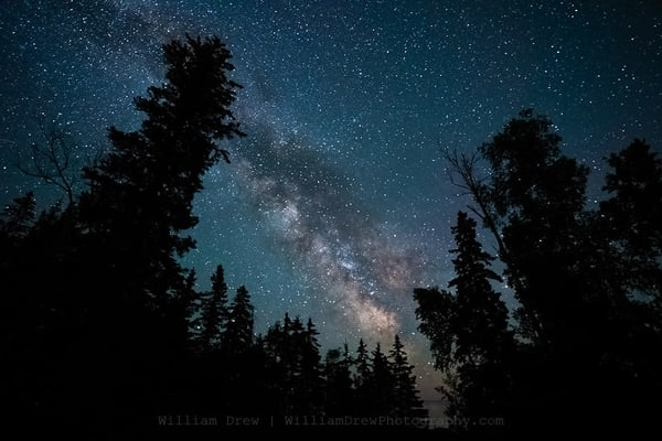 The Milky Way And Minnesota   Night Sky Murals Photography Art | William Drew Photography
