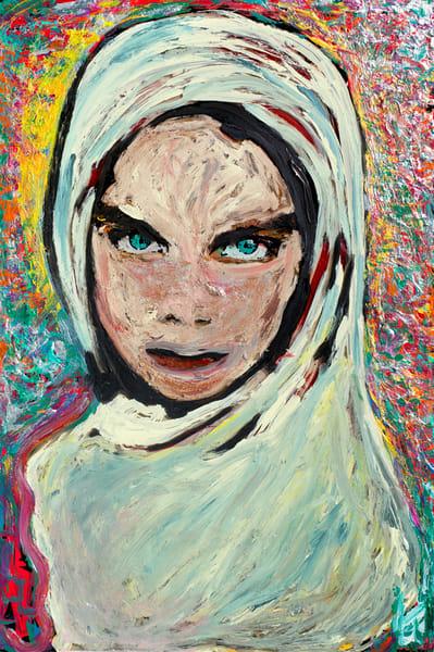 Her Eyes Don't Lie | Spiritual Art | JD Shultz Art