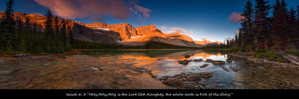 Isaiah 6: 3 Photo Devotional