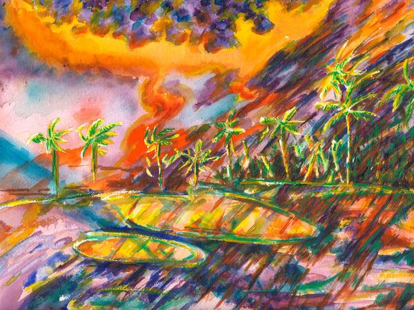 Palm Dunes Art   Marisela Bracho