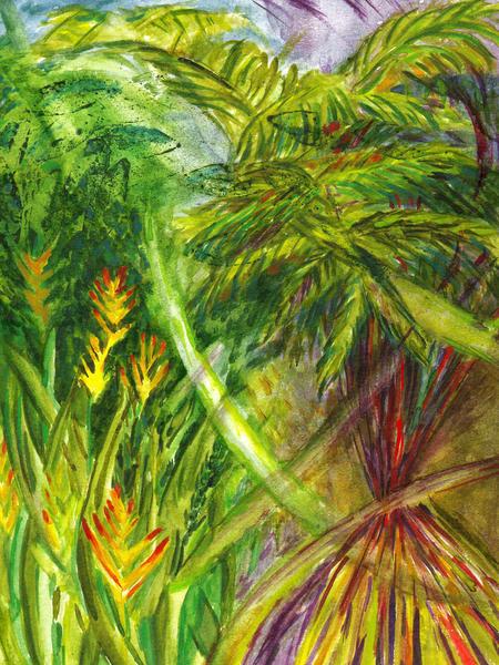 Big Isle Forest Art   Marisela Bracho