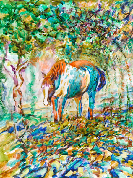 Horse Blues  Art   Marisela Bracho