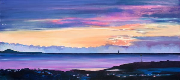 Llanelli Coast Art print/Denise Di Battista