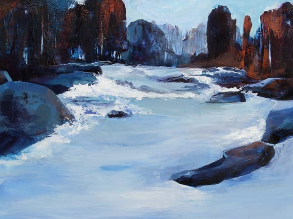 A River Runs Through It Art | Marianne Morris Art