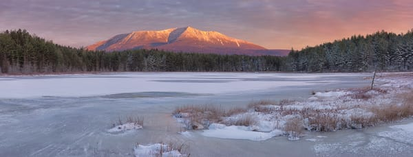 Katahdin from Sunday Pond