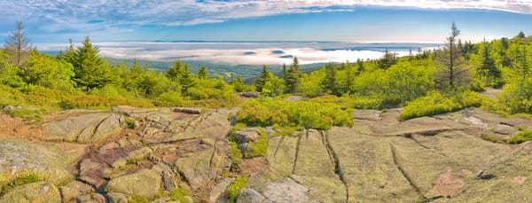 Porcupine Islands from Cadillac Mountain, Acadia National Park