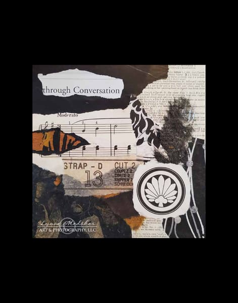 Original Artwork, Through Conversation Art | Lynne Medsker Art & Photography, LLC