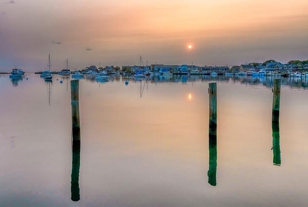 Oak Bluffs Harbor Morning Art | Michael Blanchard Inspirational Photography - Crossroads Gallery