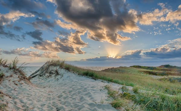 South Beach Sand Dune Light Art | Michael Blanchard Inspirational Photography - Crossroads Gallery