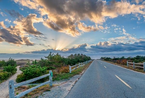 South Beach Two Paths Art | Michael Blanchard Inspirational Photography - Crossroads Gallery