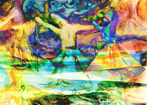 Illumined By The Song Of The Reed Art | Marisela Bracho