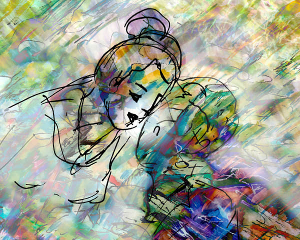Into Your Eyes I Rain Art | Marisela Bracho