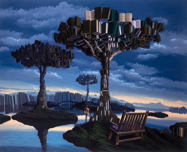 Tree Of Knowledge Art | Moshe Volcovich